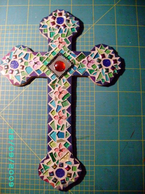 quantumcards  mosaic cross